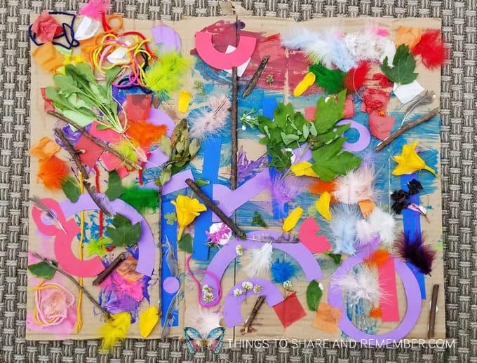 Community Collage | Art Studio | Mother Goose Time