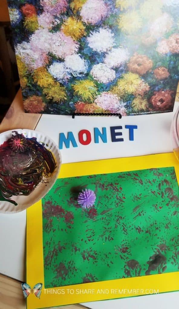 Monet's Flowers