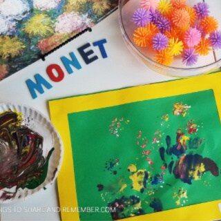 monet's flowers 320 x 320