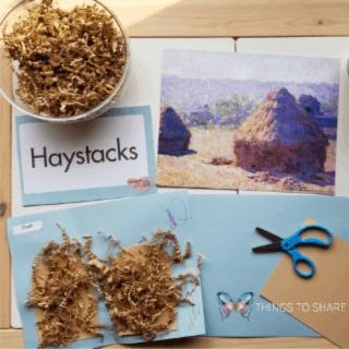 Monet's Haystack's