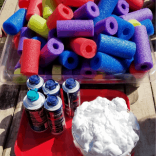 pool noodles and shaving cream 320 x 320