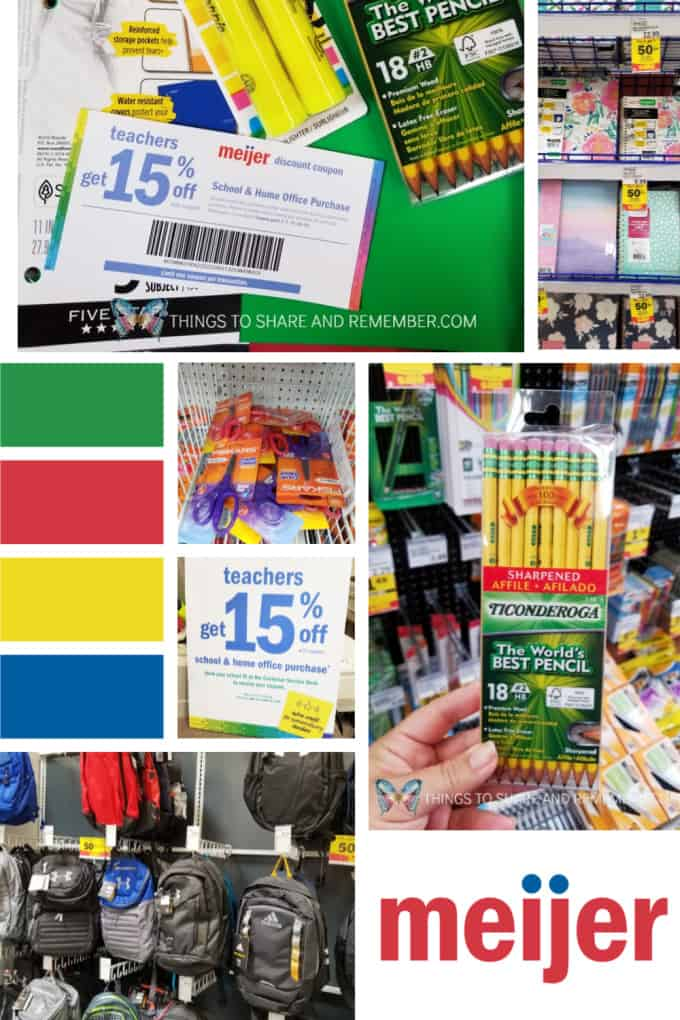 Teachers Save 15% at Meijer on School Supplies! #ad