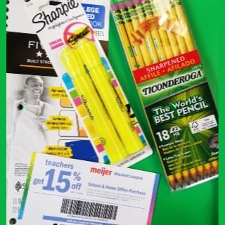Meijer Teacher Discount