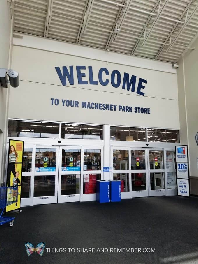 Meijer store entrance