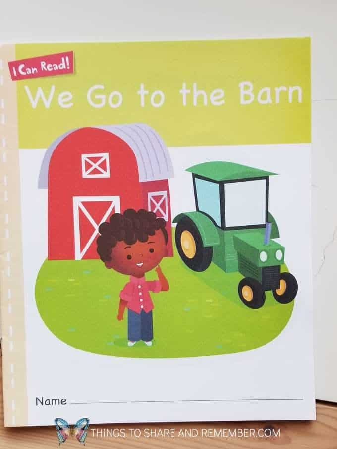 We Go to the Barn Sight Word Books from Experience Preschool Mother Goose Time