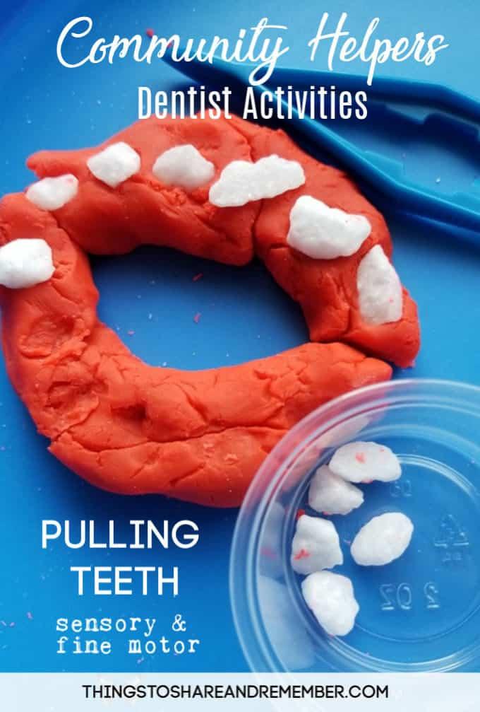 Community Helpers Preschool Dental Health Activities Experience Preschool Curriculum