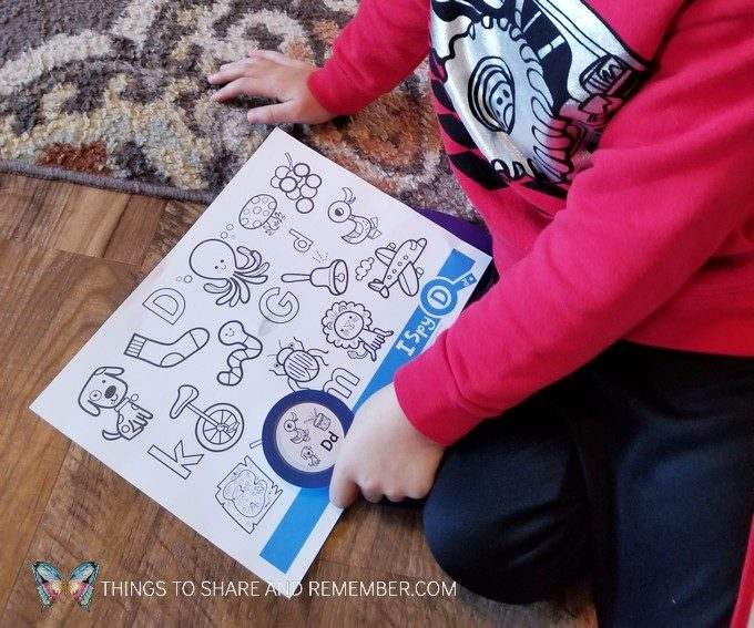 Preschool Dental Health Activities Experience Preschool Mother Goose Time I Spy Letter D page
