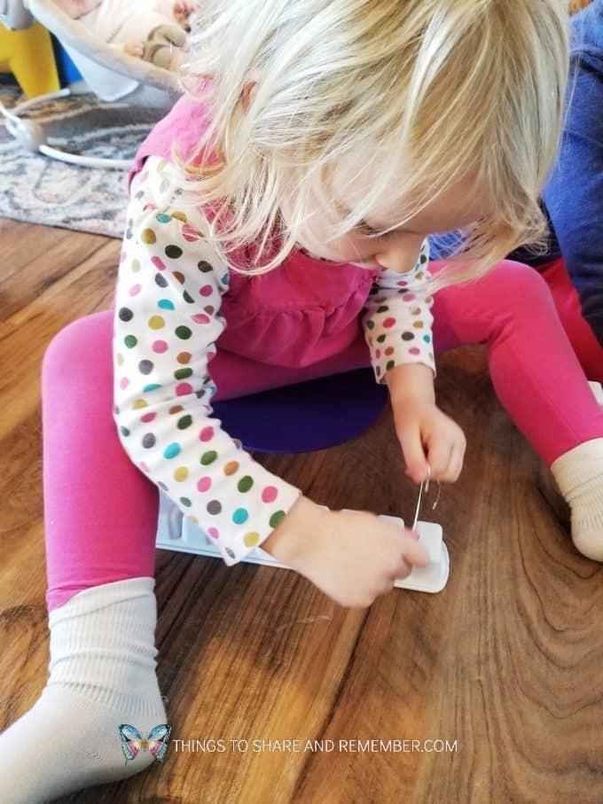 Preschool Dental Health Activities Experience Preschool Flossing Ice Cube Tray Teeth