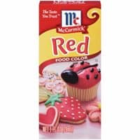 McCormick Red Food Color, 1 fl oz