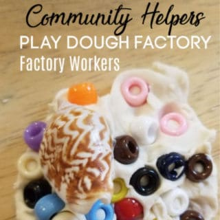 Community Helpers Play Dough Factory