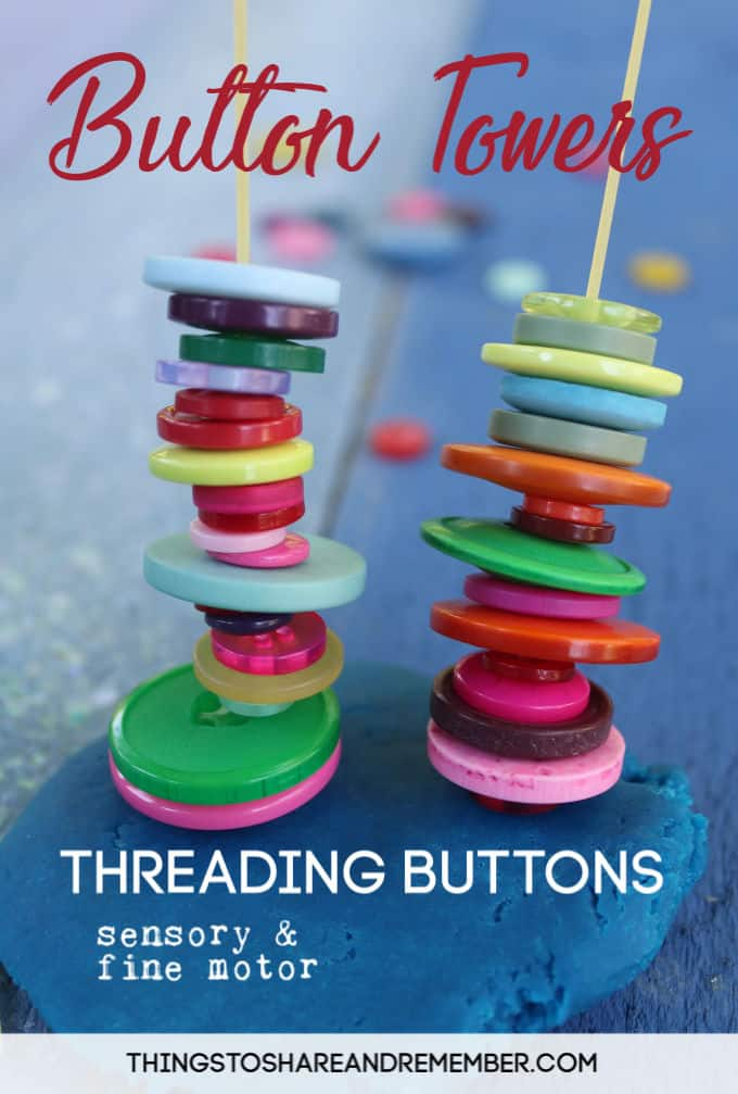 Button-Towers-Threading-Buttons-on-Spaghetti