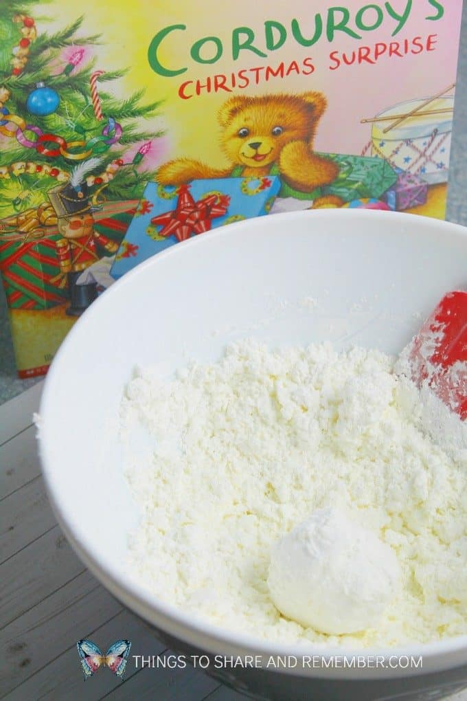 Corduroy's Christmas Story & Sensory Activity for Preschoolers