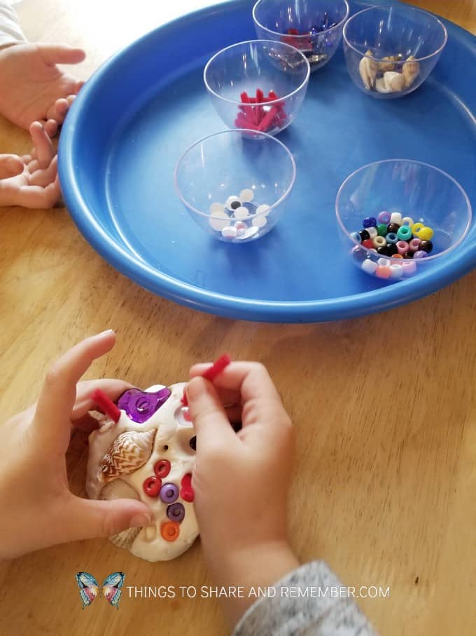 Factory Worker Playdough Activity - taking turns
