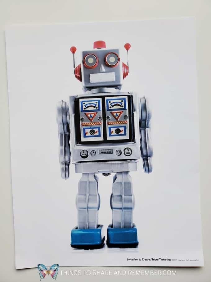 Robot Tinkering poster