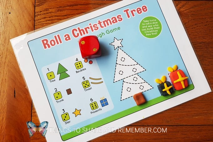 free printable Christmas game for kids