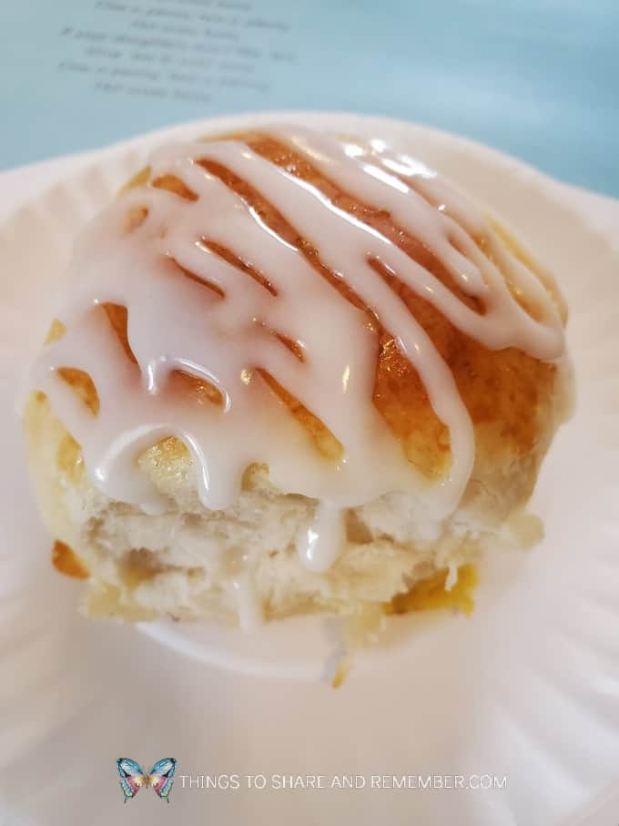 iced hot cross bun recipe