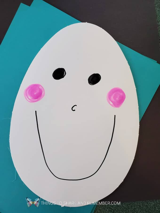 Humpty Dumpty Art Puzzle Make & Play activity