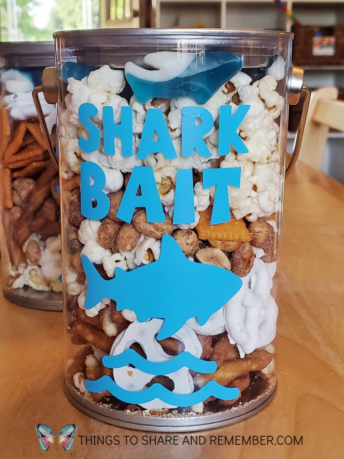 Shark Bait Father's Day Snack Mix for Daddy Shark