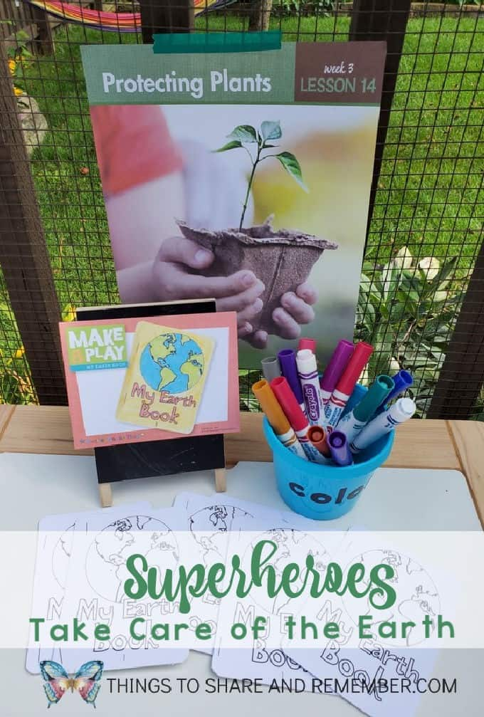Let's Be Superheroes Preschool Curriculum Table Superheroes Take Care Of the Earth