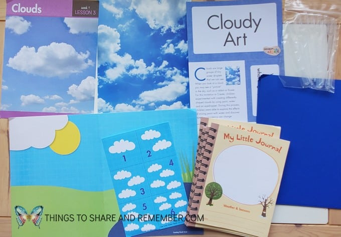 What's in the Box? Weather & Seasons clouds