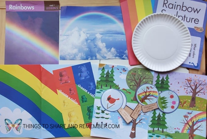 What's in the Box? Weather & Seasons rainbows