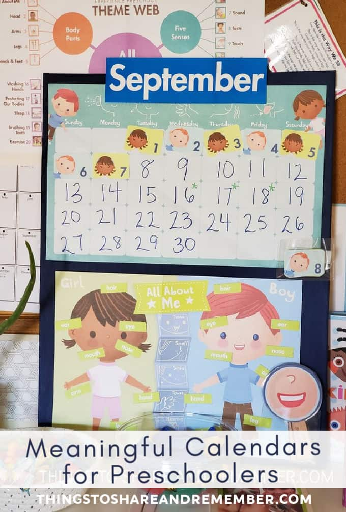 Meaningful calendars for preschools image