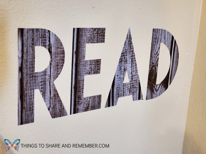 READ wall adhesive