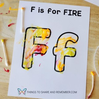 F is for Fire featured