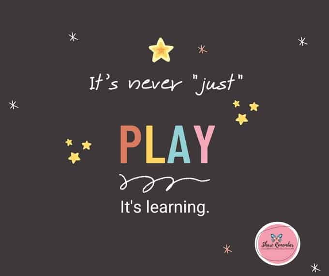 It's Never Just Play Printable Poster PDF
