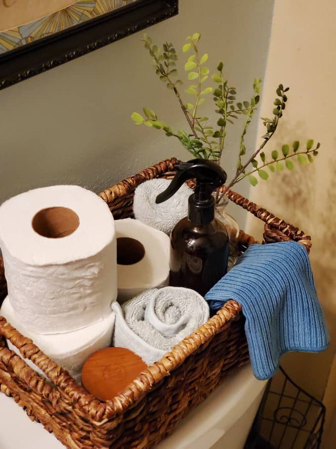Bring fresh to your bathroom with a fresh basket featuring Fresh Scents with Angel Soft® Scented Tube