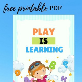 play is learning featured