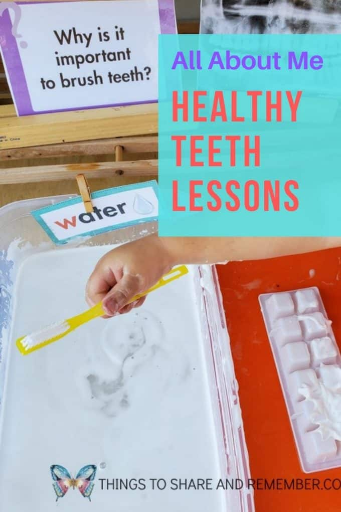 Healthy Teeth Lesson All About Me