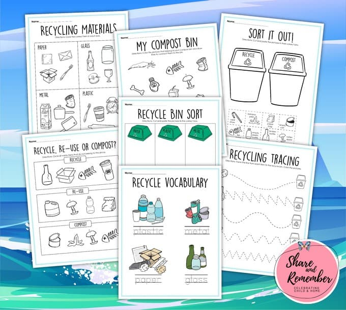 Recycling Activities Printables