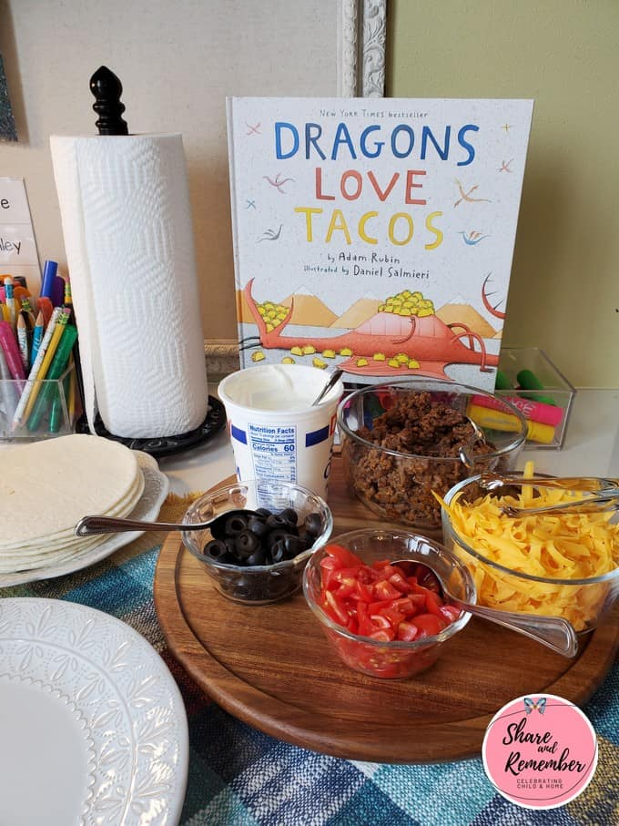 Dragons Love Tacos Lunch