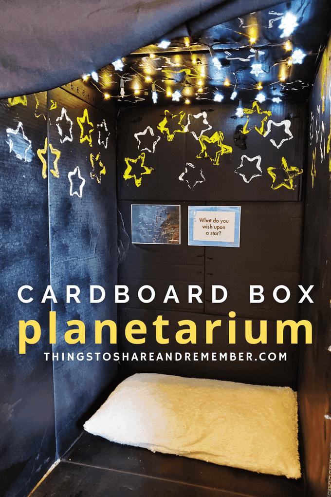 Cardboard Box Planetarium