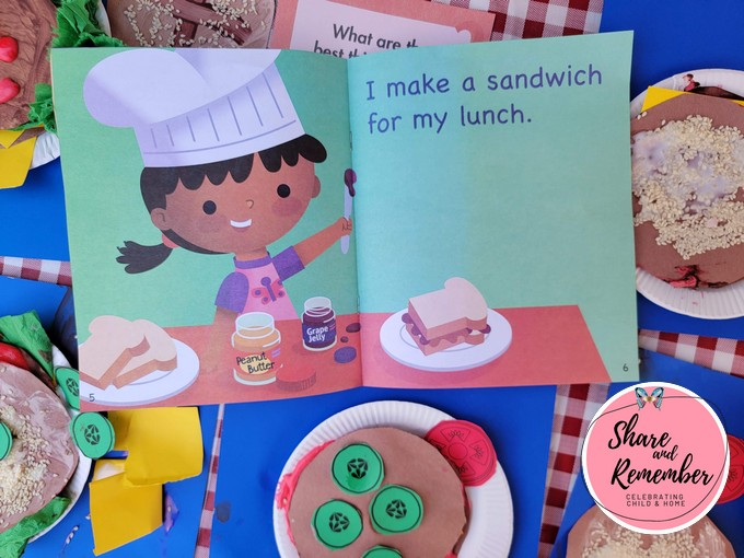 I Make Food I Can Read books