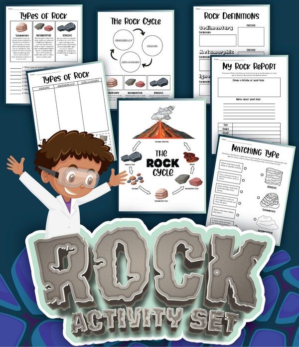 The Rock Cycle Printable Activities