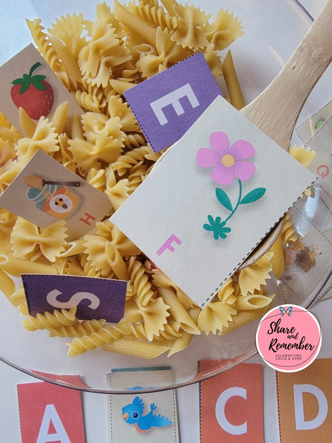 Alphabet Soup Literacy Game from Experience Early Learning