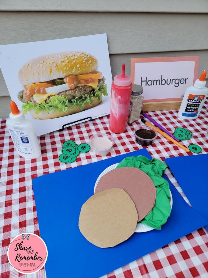 Hamburger Art supplies