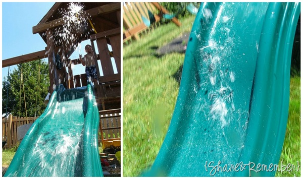 10+ Ways to Play with a Water Hose homemade water slide