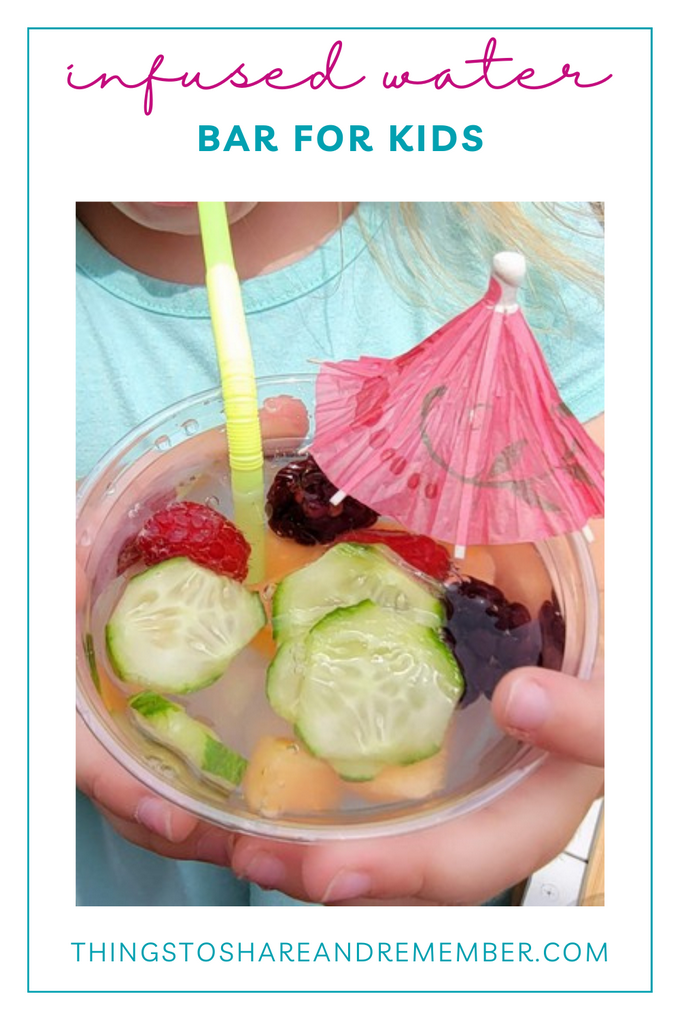 Infused Water Bar for Kids